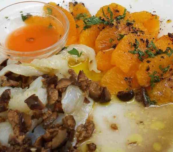 Ensalada de naranja mecánica