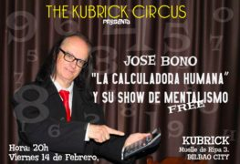 Jose Bono_La calculadora humana_Kubrick Bar Bilbao